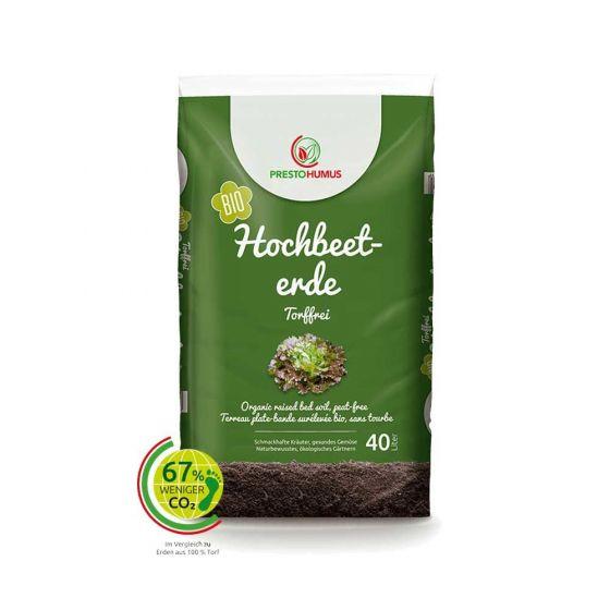 Prestohumus Premium Hochbeeterde torffrei