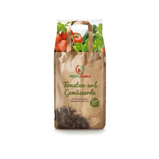 Prestohumus BIO Tomate- und Gemüseerde