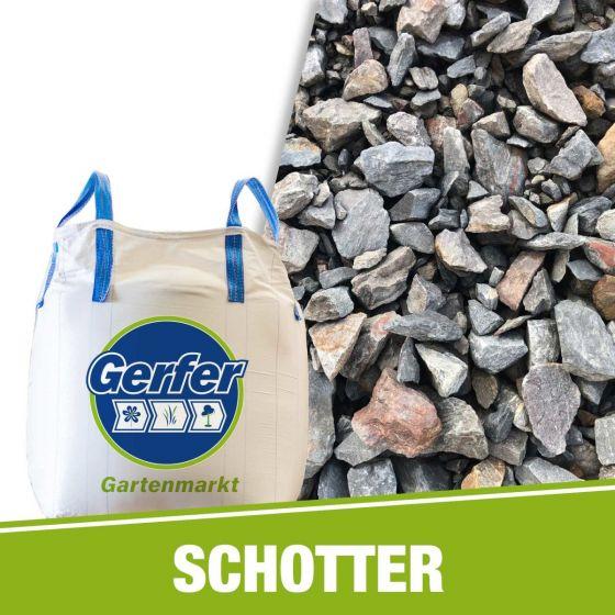 Schotter Grauwacke 0/45 mm im BigBag je Tonne inkl. Big Bag und Abfüllung